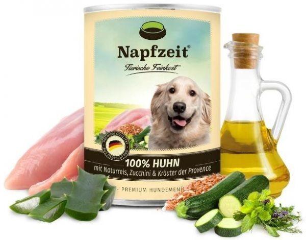 Napfzeit Frango com Arroz, Abobrinha & Ervas & Aloe Vera 400 g, 800 g Compre a bom preço com desconto