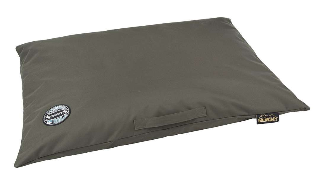 Scruffs Expedition, Memory Pillow Bed  Oliva, ou Verde-oliva XL