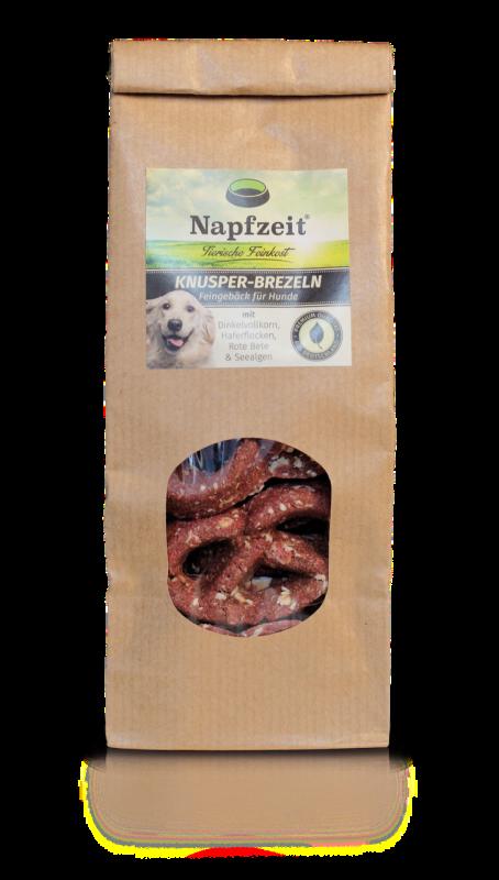 Napfzeit Pretzels Bolos Crocantes para Cães 100 g, 500 g Compre a bom preço com desconto