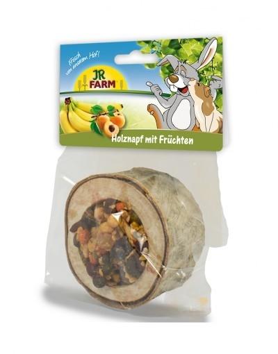 Holznapf mit Früchten von JR Farm 120 g online günstig kaufen