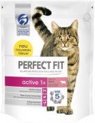 Perfect Fit Active 1 + Rico en Carne de Ganado 750 g