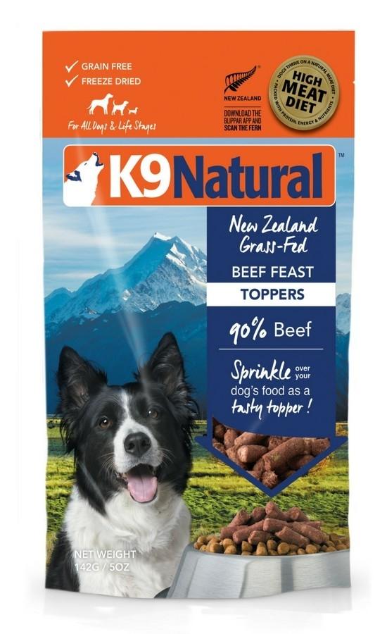 K9 Natural Topper Carne de Vaca 142 g