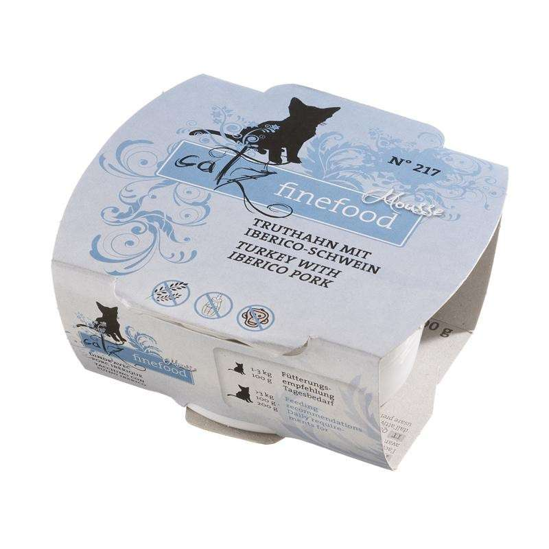 Catz Finefood Mousse No. 217 - Turkey & Iberico Pork 100 g order cheap