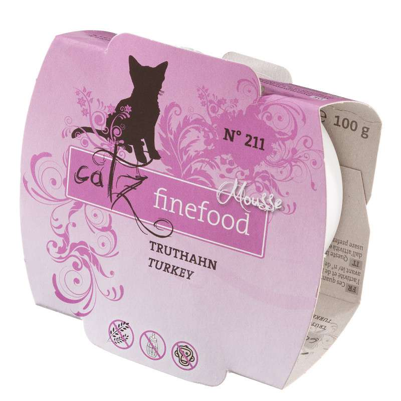 Catz Finefood Mousse No. 213 - Turkey 100 g test