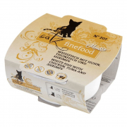 Catz Finefood Mousse No. 207 Weißfisch, Thunfisch & Shrimps 100 g Art.-Nr.: 21067