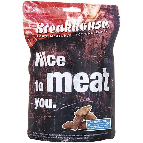 Fleischeslust Steakhouse Freezies - Snack Corazones de Aves de Corral Liofilizado 75 g