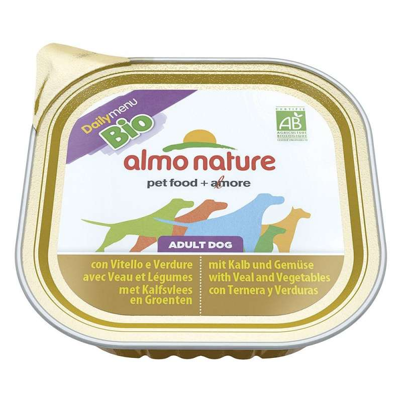 Almo Nature DailyMenu BIO Adult Dog Kalf en Groenten 300 g