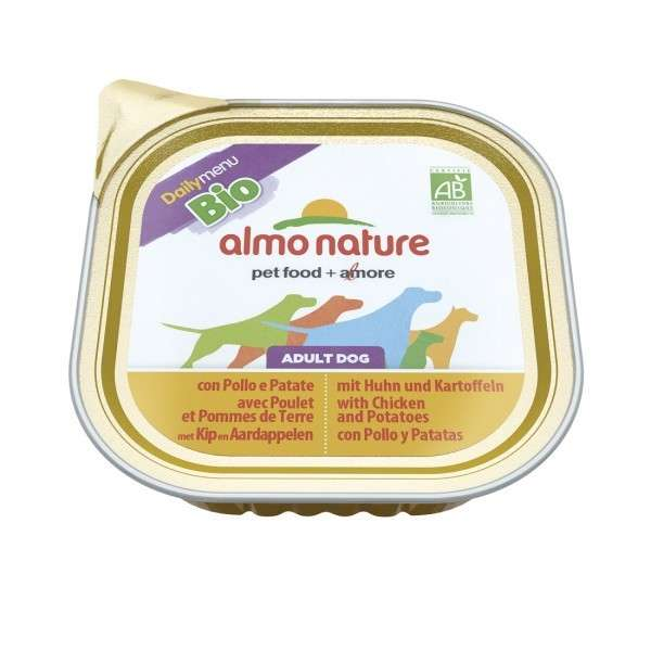 Almo Nature DailyMenu Adult Dog Kip en Aardappel 300 g 8001154121162