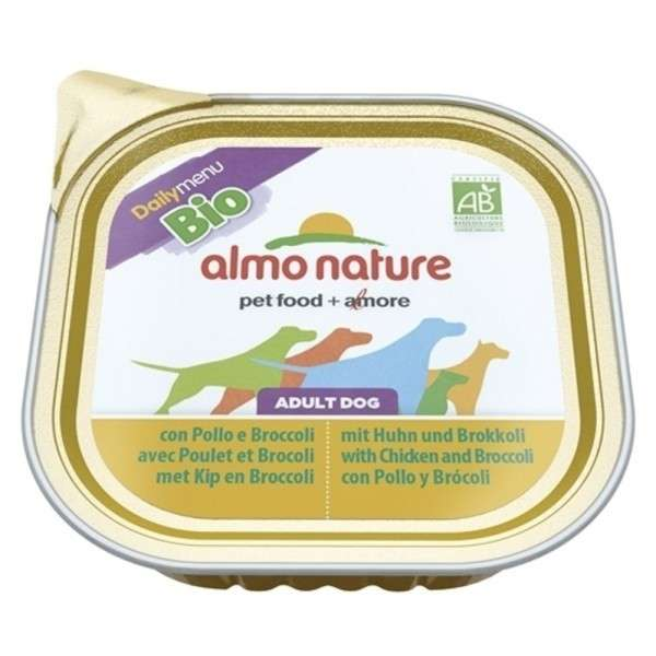 Almo Nature DailyMenu BIO Adult Dog Kip en Broccoli 300 g