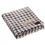 Tall Tails Fleece Blanket - Houndstooth 50x76 cm