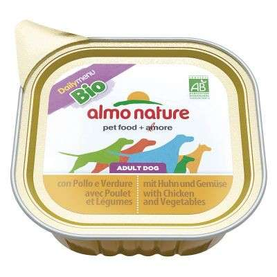 Almo Nature DailyMenu BIO Adult Dog Kip & Groente 100 g, 300 g