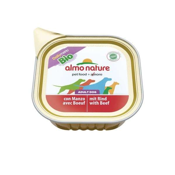 Almo Nature DailyMenu BIO Adult Dog Rund 100 g, 300 g