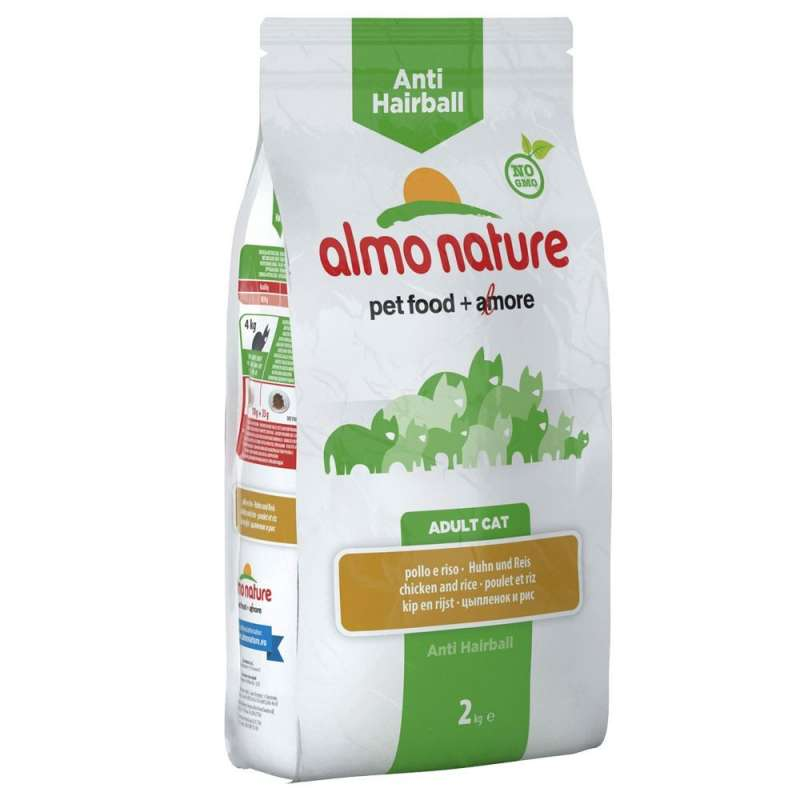 Almo Nature Adult Anti-Hairball Poulet et Riz 2 kg