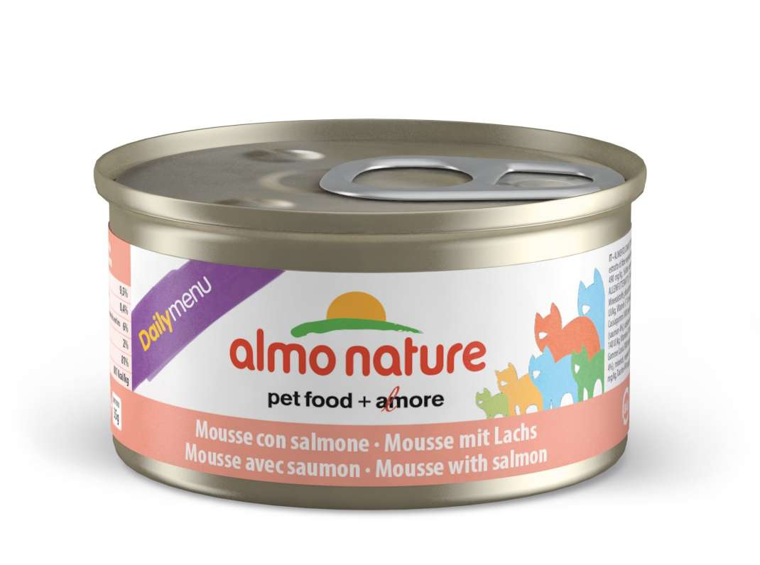 Almo Nature DailyMenu Adult Cat Salmon EAN: 8001154125009 reviews