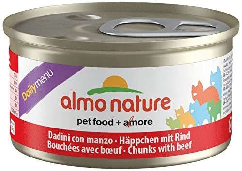Almo Nature DailyMenu Chunks with Beef 85 g order cheap