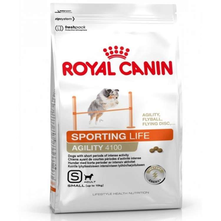 Royal Canin Lifestyle Health Nutrition - Sporting Life Agility 4100 Small 7.5 kg, 1.5 kg kjøp billig med rabatt