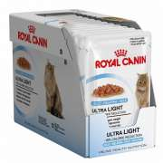 Royal Canin Feline Health Nutrition Multipack Ultra Light i Gelé 12x85 g