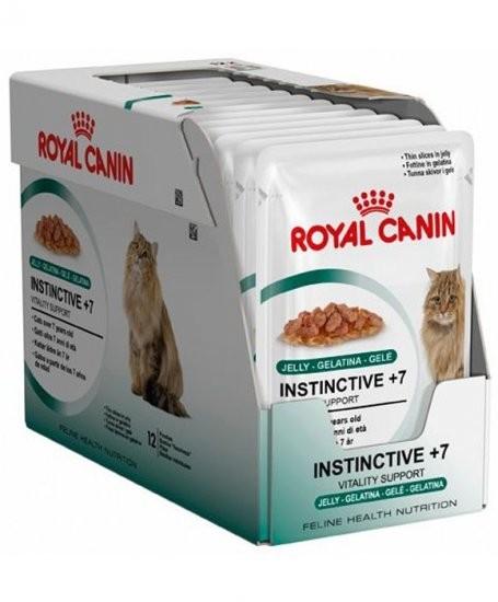 Royal Canin Feline Health Nutrition - Multipack Instinctive +7 in Gelee 12x85 g kjøp billig med rabatt