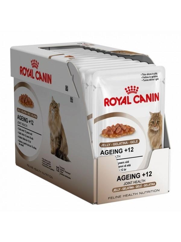 Royal Canin Feline Health Nutrition - Multipack Ageing +12 in Gelei 12x85 g
