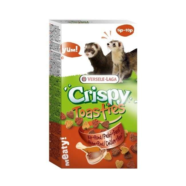 Crispy Toasties Frettchen von Versele Laga 150 g online günstig kaufen