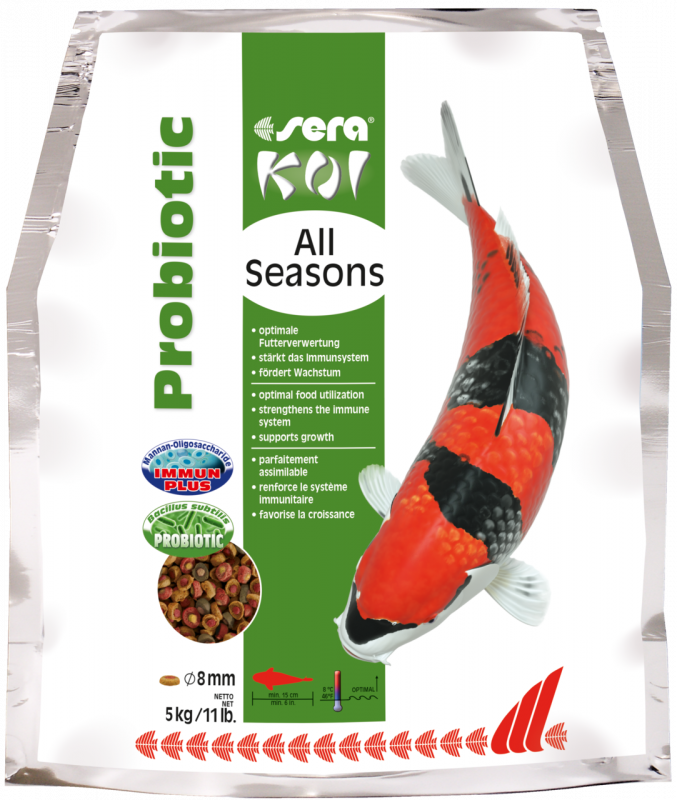 Sera Koi All Seasons Probiotic  5 kg