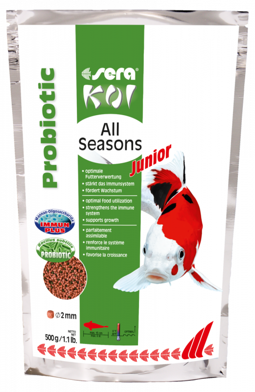 Sera Koi Junior All Seasons Probiotic 500 g 4001942444545