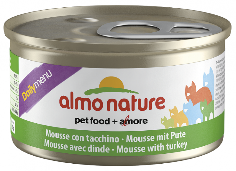 Almo Nature DailyMenu Mousse with Turkey EAN: 8001154125030 reviews