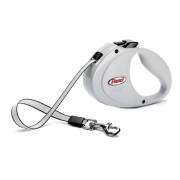 Flexi Flexi Tape Leash City, 2m Light gray