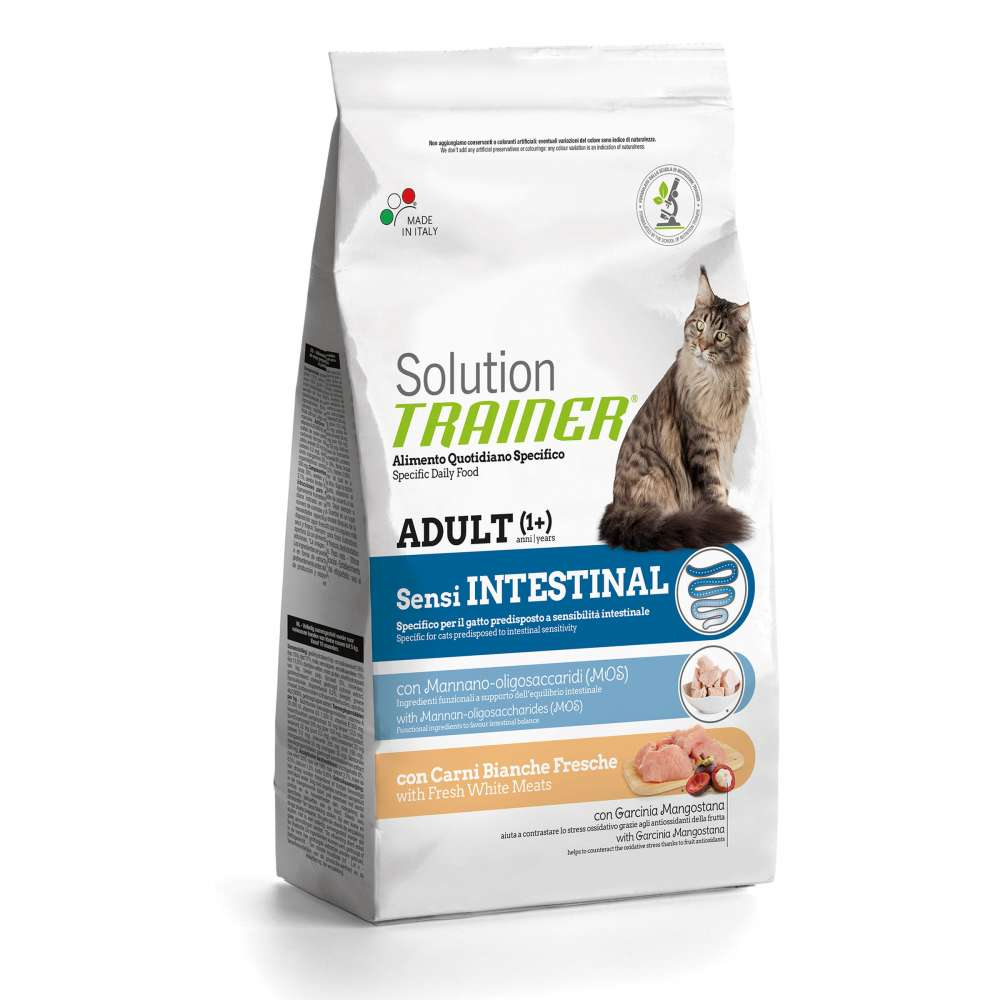 Nova Foods Solution Trainer Cat - Adult Sensi Intestinal with Fresh White Meats 1.50 kg