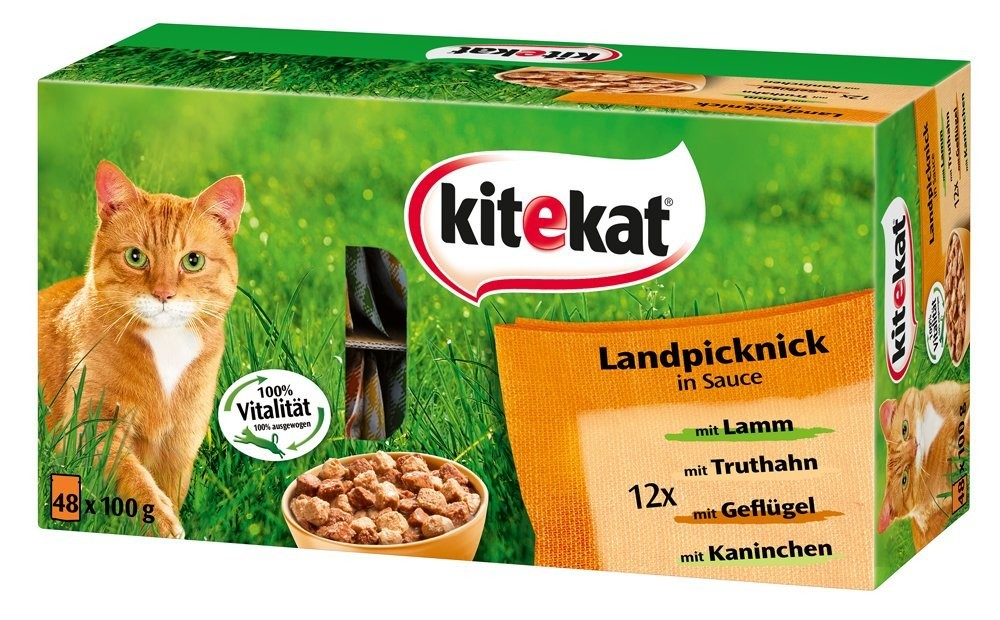 Landpicnic in Sauce 48 pouches by Kitekat 48x100 g buy online
