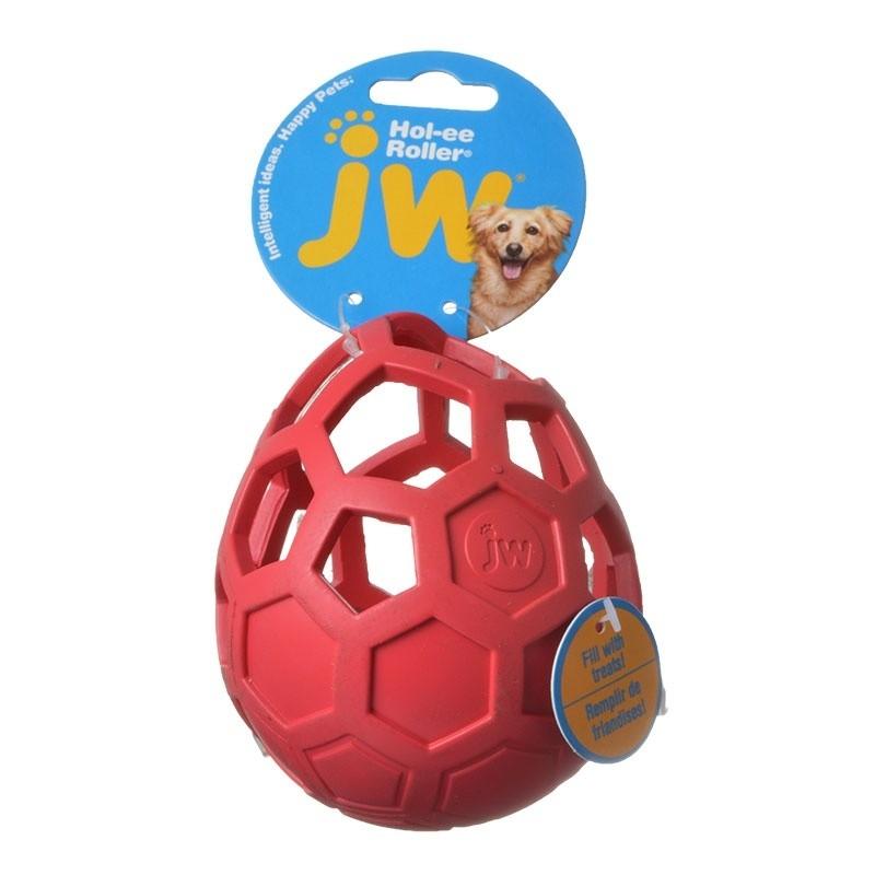 Hol-ee Roller Wobbler Bordô  da JW Compre a bom preço com desconto