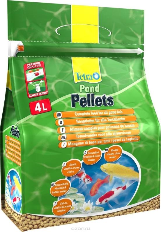 Tetra pond pellets 1 l teichfischfutter for Teichfische preise
