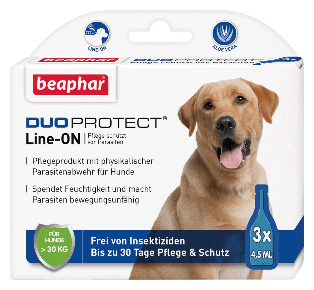 Beaphar DuoProtect para Perro (más 30kg)  L 3x4.5 ml