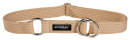 Half-check Cotton Collar, Beige Beige