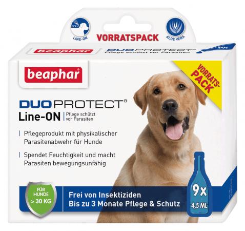 Beaphar DuoProtect para Perro (más 30kg) L 9x4.5 ml