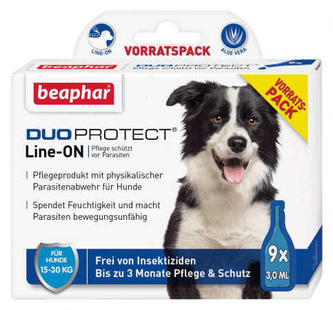 Beaphar DuoProtect para Perros (15-30kg) 9x3 ml 8711231133192 opiniones