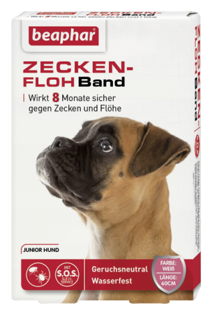 Beaphar Flea&Tick Collar for Junior Dogs 60 cm  kjøp billig med rabatt