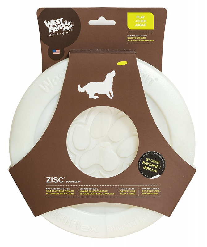 West Paw Zisc Flying Disc Brillante 0747473738930 opiniones