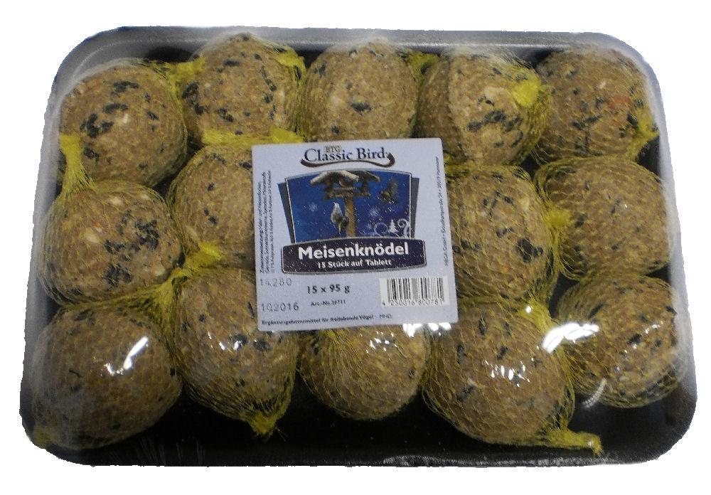 Classic Bird Titmice Dumplings in Tray 95 g  acquista comodamente