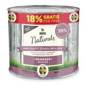 Wet dog food Bozita Naturals Paté Reindeer 625 g