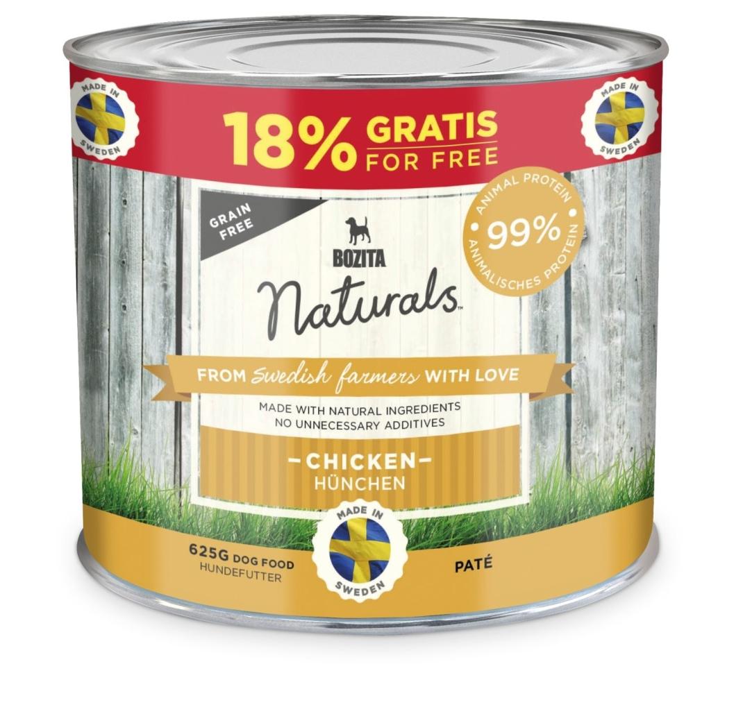 Bozita Naturals Paté Chicken 625 g