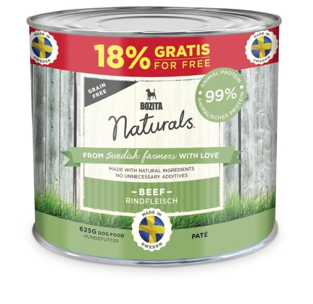 Bozita Naturals Paté Beef 625 g