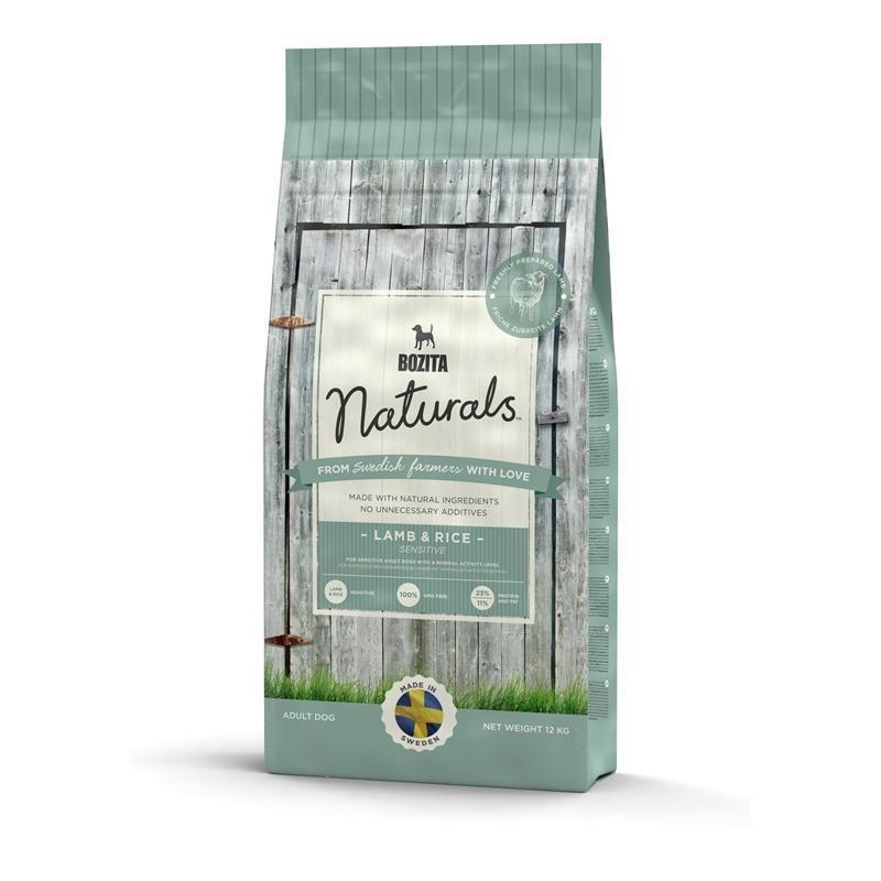 Bozita Naturals Cordero & Arroz 3.5 kg, 12 kg