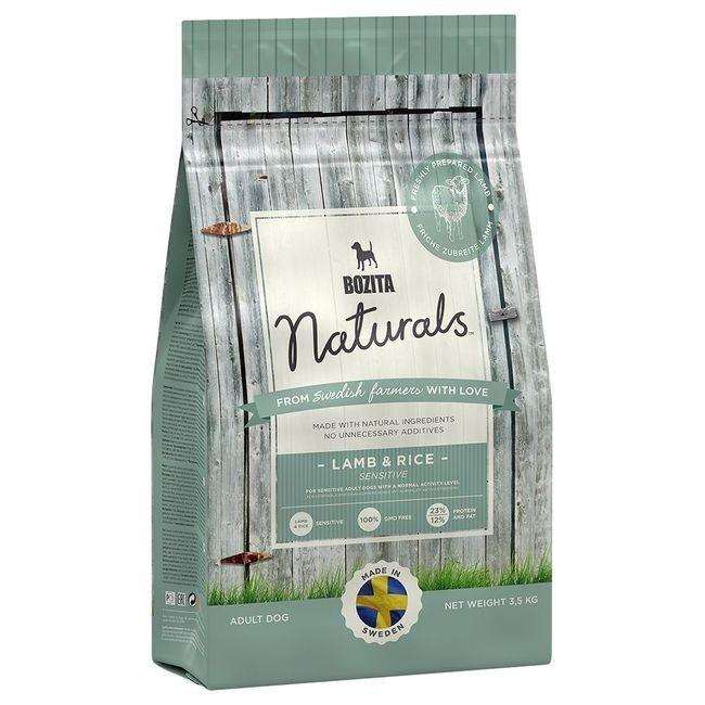 Bozita Naturals Cordero & Arroz 3.5 kg 7311030136236 opiniones