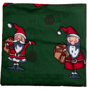 Motif Cushion Valerian Christmas Verde scuro