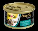 GimCat ShinyCat en Gelée avec Poulet & Crevettes
