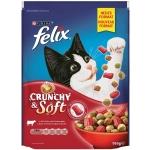 Felix Crunchy und Soft Rind, Huhn & Gemüse 950 g