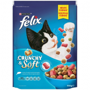 Felix Crunchy & Soft with Salmon, Thuna and Vegetables Art.-Nr.: 47739