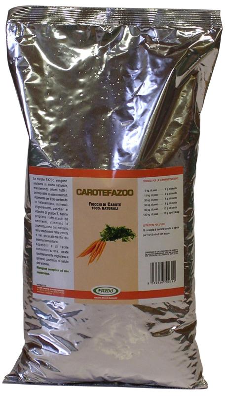 Fazoo 100% Granos de Zanahoria Naturales 3 kg 4260147991326 opiniones