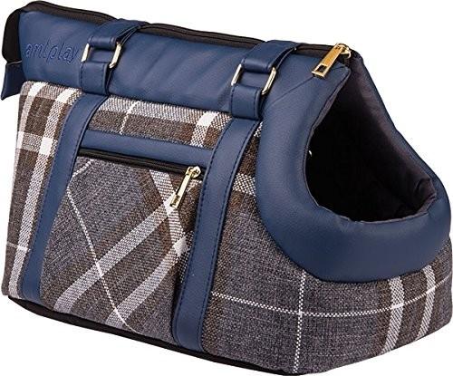 Amiplay Pet Carrier Bag Kent  Blå 32x21x24 cm